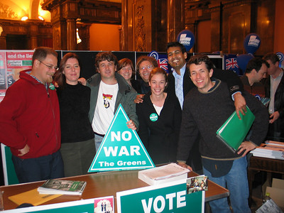 Greens volunteers from 2004 election